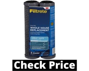 Filtrete Standard Capacity House iron filter Carbon