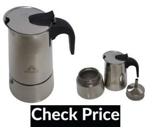 12 cup stainless steel stovetop espresso maker