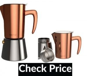 stainless steel stovetop espresso maker