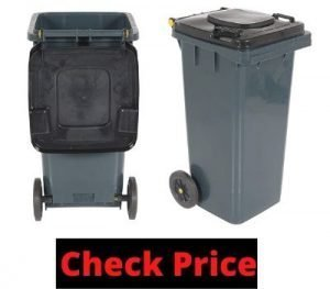 outdoor garbage can storage home depot
