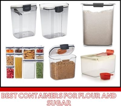 Best Containers For Flour And Sugar In 2020