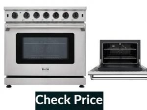 best 36 inch professional gas range