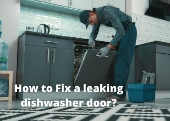 How To Fix A Leaking Dishwasher Door